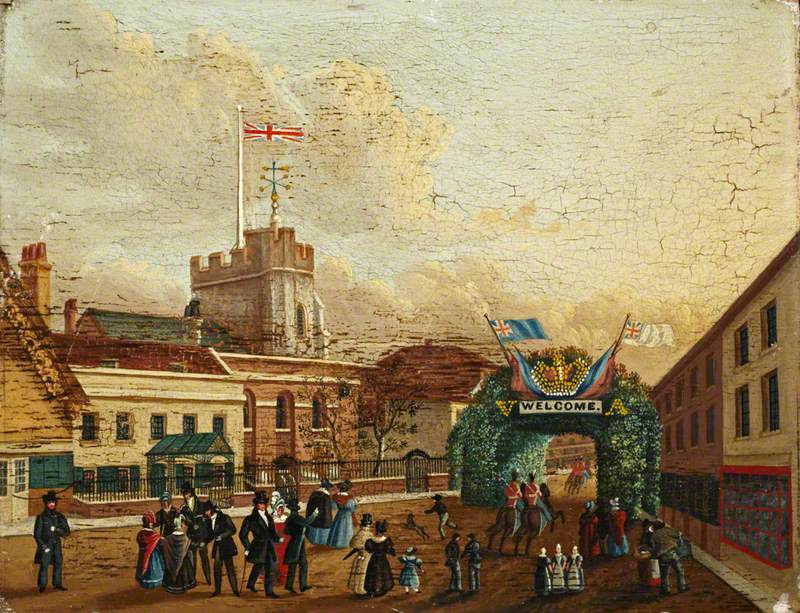 Brentford on Queen Victoria's Wedding day