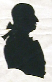 Thomas Bentley silhouette (Chiswick Local Studies, L B Hounslow)