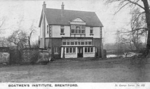 The Boatmen's Institute, from the invitation to the opening in 1904 (BHSproject.co.uk)