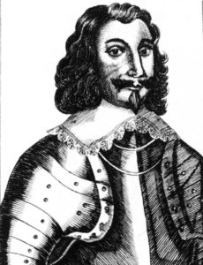 Philip Skippon, commander of the London trained bands, from a contemporary woodcut