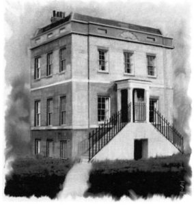 Sydneh House, Acton Green, artist's impression by Tim Shelbourne (courtesy pf D W Budworth)