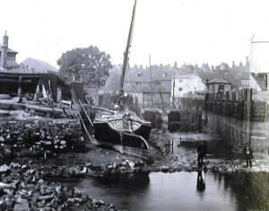 Town Dock by August Ballin