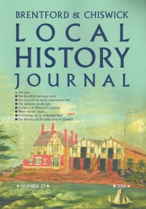 BCLHS Journal 23 cover