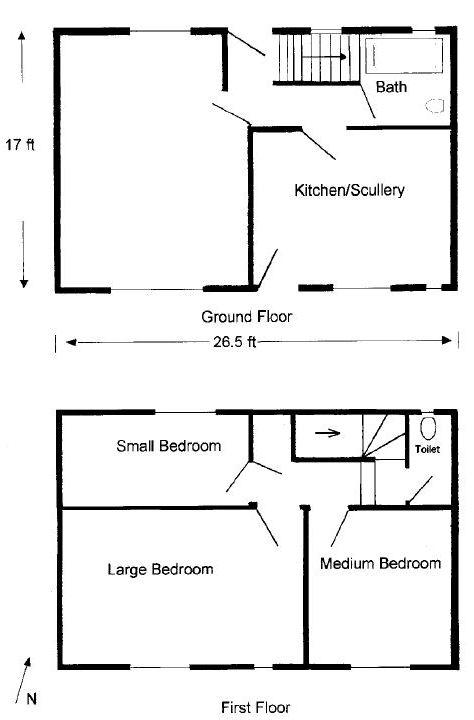 Typical Clayponds estate house plan