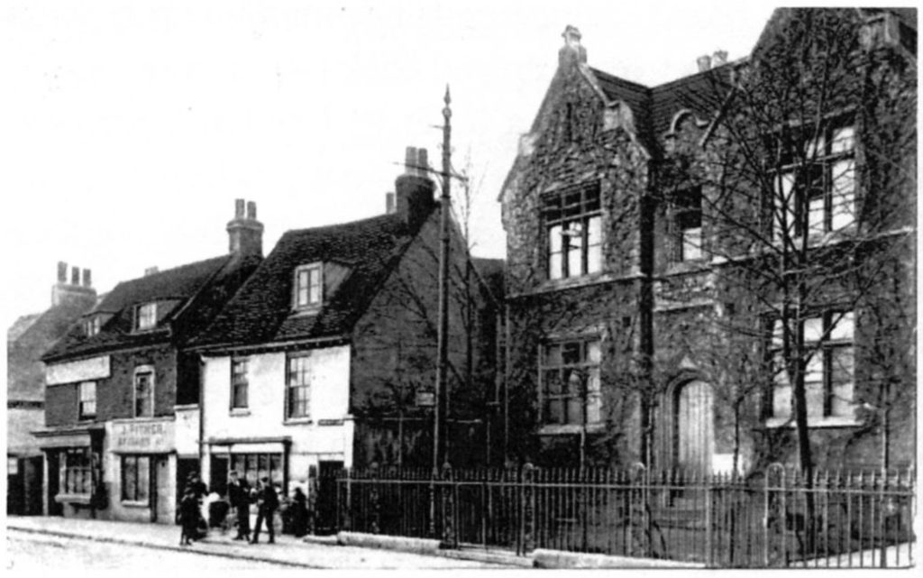 Brentford's British School, later known as the Rothschild School (Chiswick Local Studies)